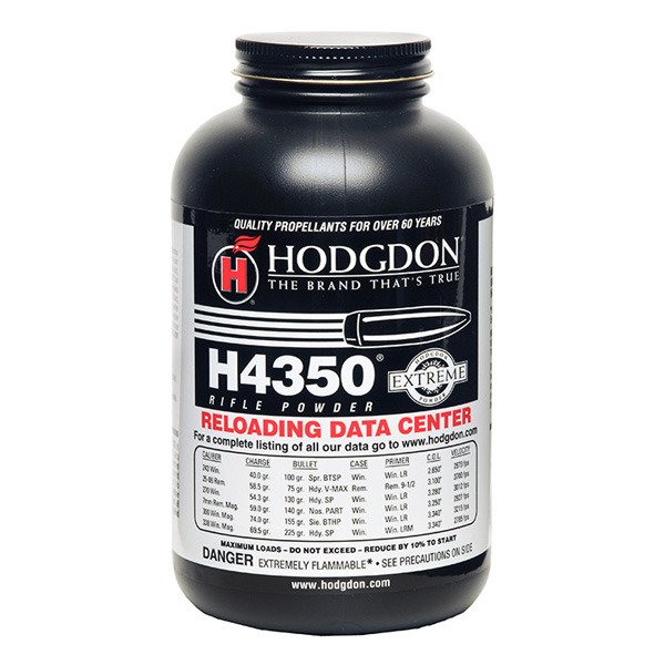 Hodgdon H4350 Smokeless Powder 1 Pound