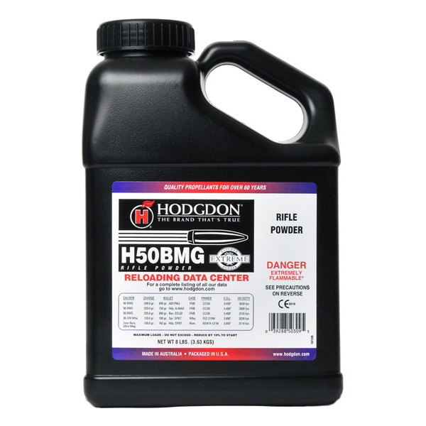 Hodgdon 50 BMG Smokeless Powder 8 Pound