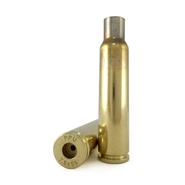 Prvi Partizan Brass 7 5x55 Swiss Unprimed Bag of 50 - Graf