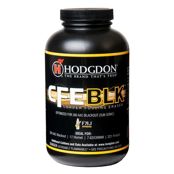 Hodgdon CFE Black Smokeless Powder 1 Pound