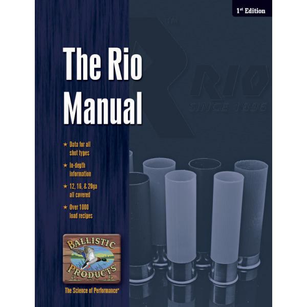 BPI RIO RELOADING MANUAL 1st EDITION - Graf & Sons