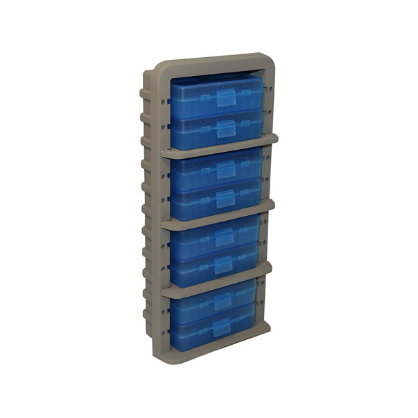MTM AMMO RACK w/8-P50-9M AMMO BOXES 6/CS