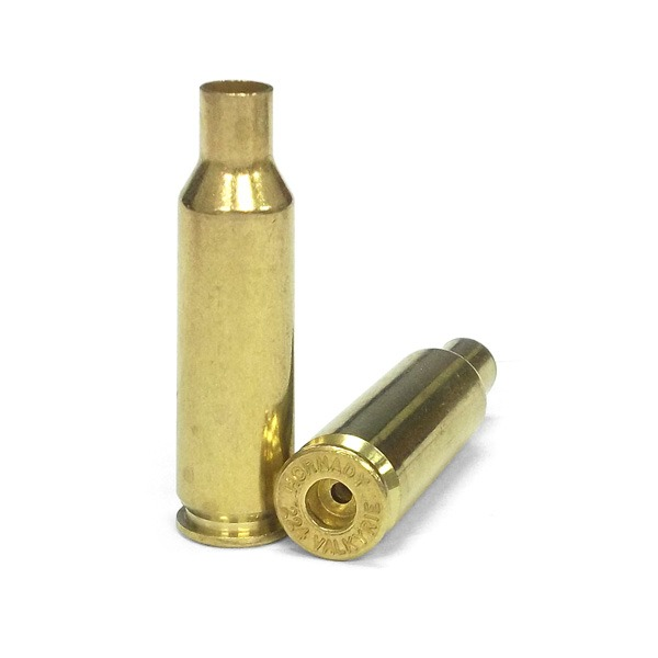 HORNADY BRASS 224 VALKYRIE UNPRIMED BULK 100/BAG
