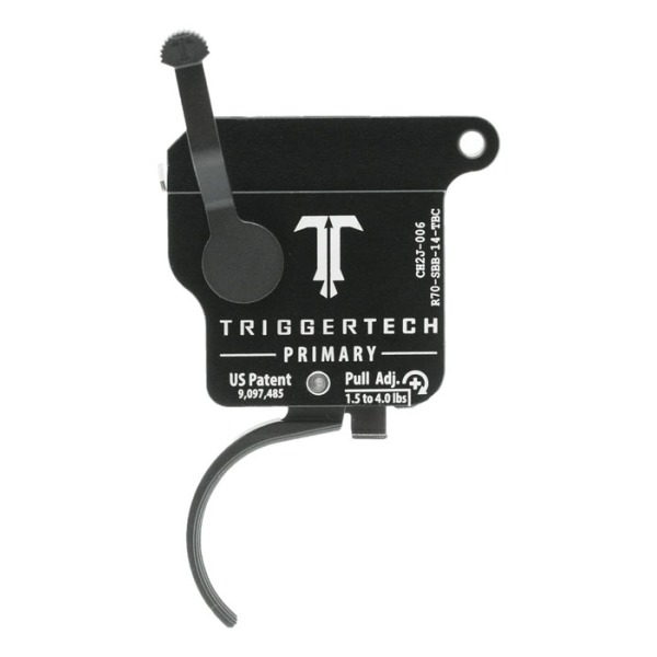 TRIGGERTECH REMINGTON 700 RH PRIMARY CURVED 1.5-4LB BK