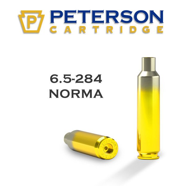 Peterson Brass 6.5-284 Norma Unprimed Box of 50