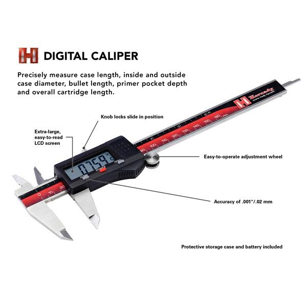 HORNADY CALIPER DIGITAL 0-6