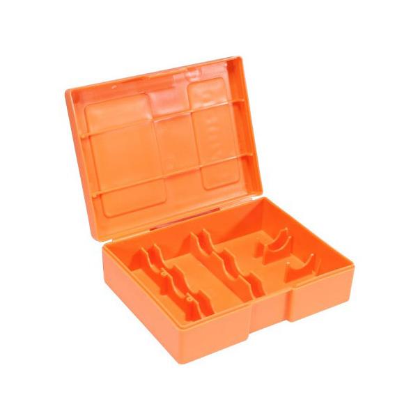Exceptionnel LYMAN STORAGE BOX HOLDS 3 DIES /ORANGE